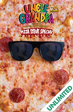 Uncle Grandpa: Pizza Steve Special #1