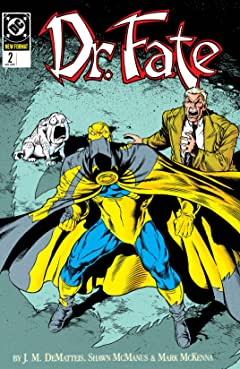 Doctor Fate (1988-1992) No.2