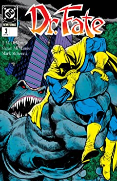 Doctor Fate (1988-1992) No.3
