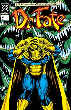 Doctor Fate (1988-1992) No.4