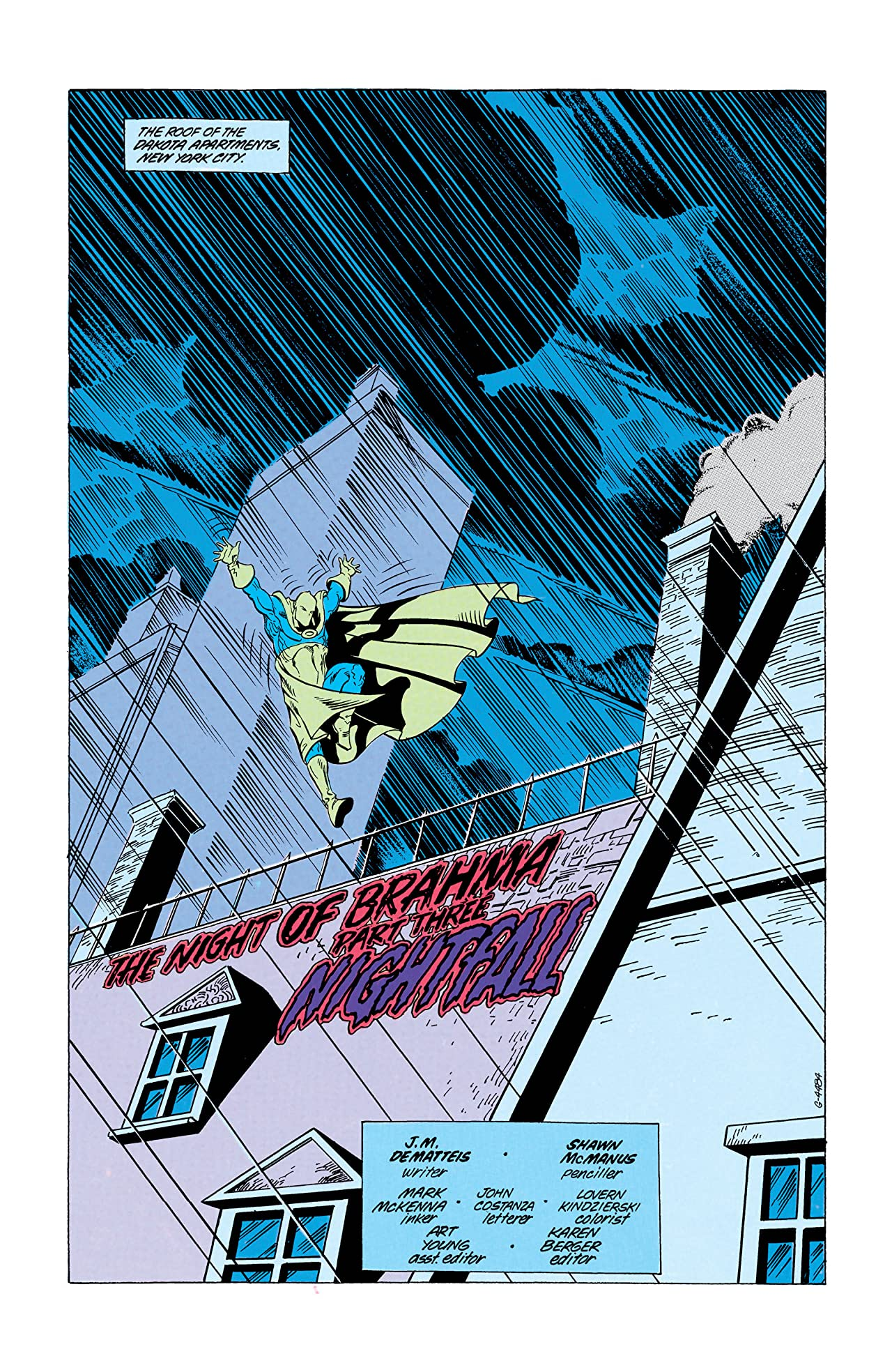 Doctor Fate (1988-1992) #4