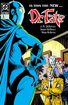Doctor Fate (1988-1992) No.5