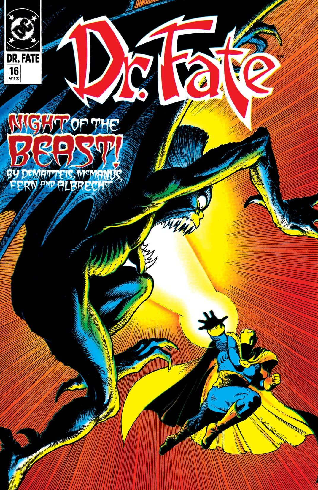 Doctor Fate (1988-1992) #16