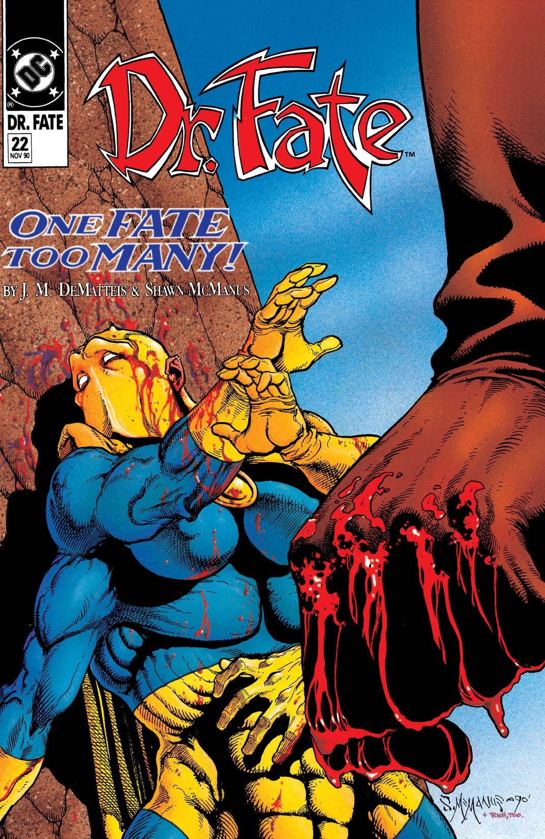 Doctor Fate (1988-1992) #22