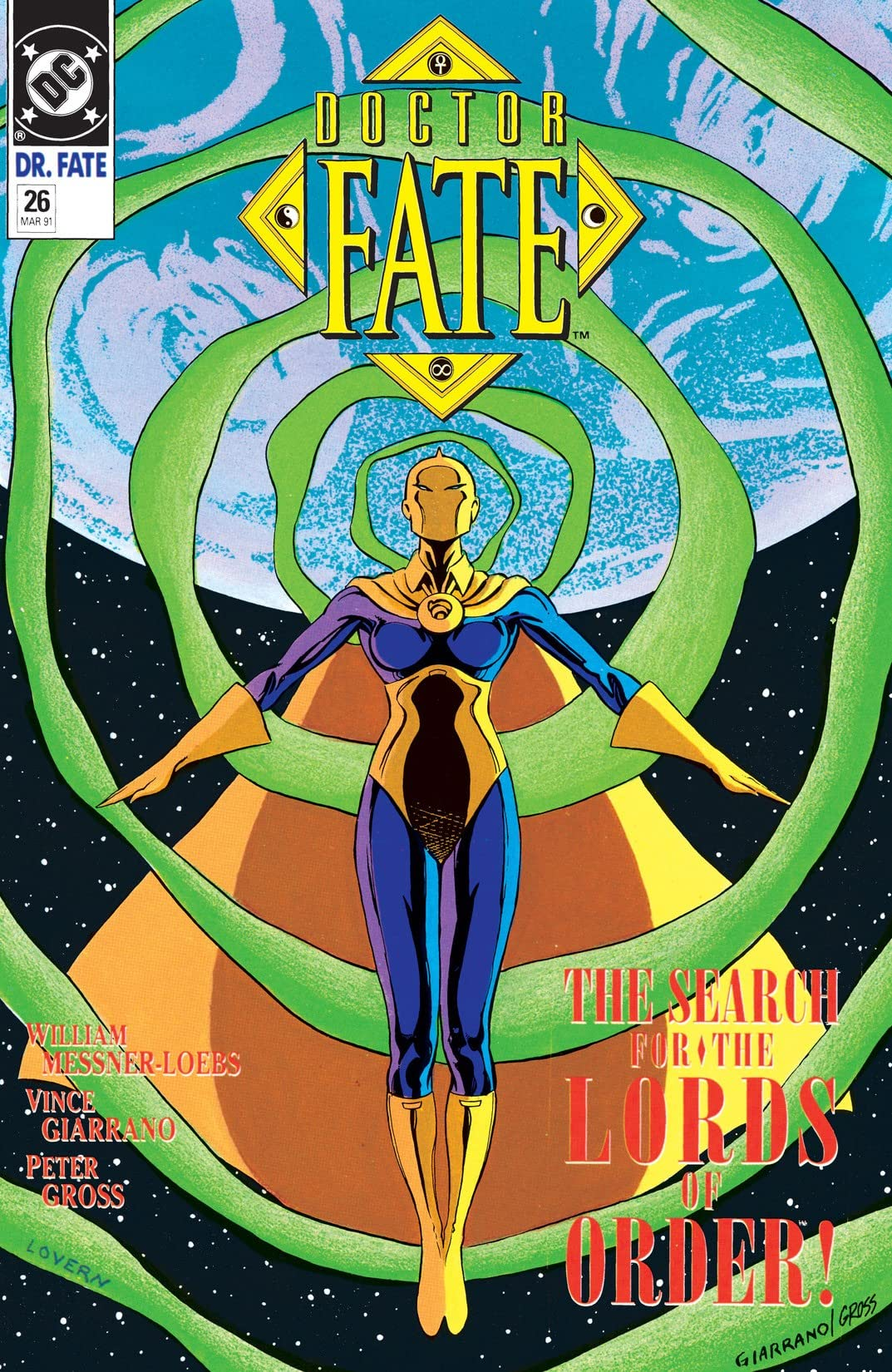 Doctor Fate (1988-1992) #26