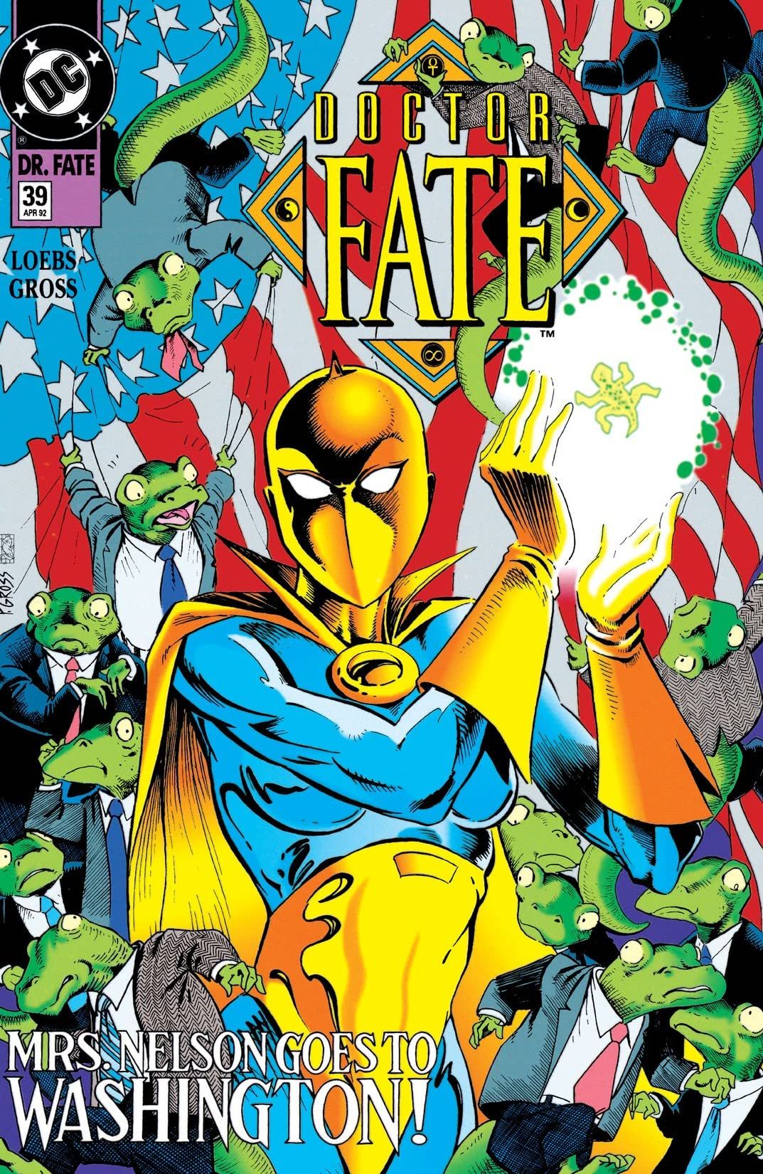 Doctor Fate (1988-1992) #39