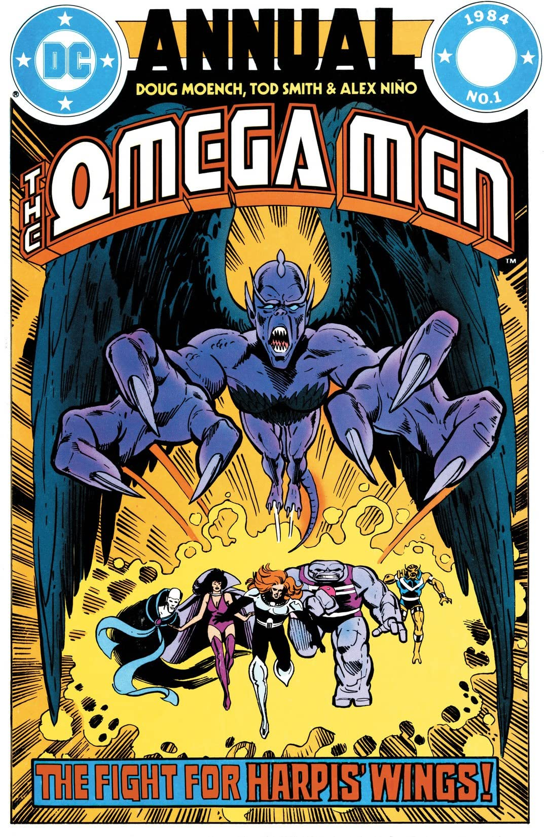 The Omega Men (1983-1986): Annual #1