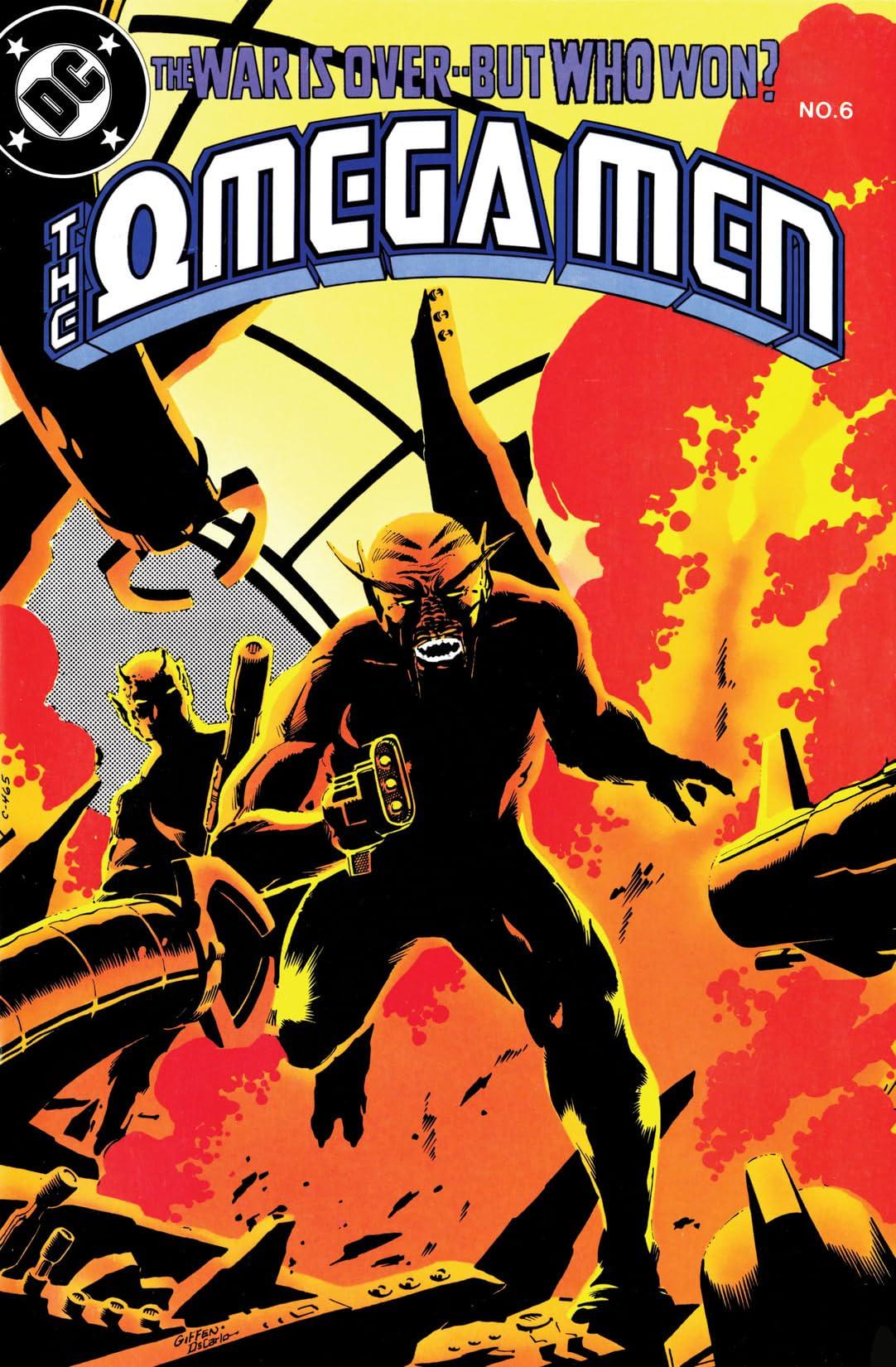 The Omega Men (1983-1986) #6