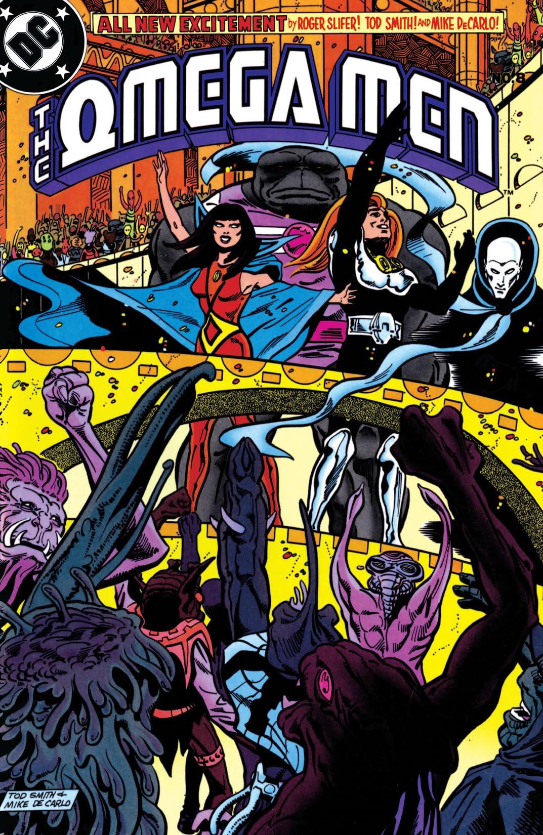 The Omega Men (1983-1986) #8