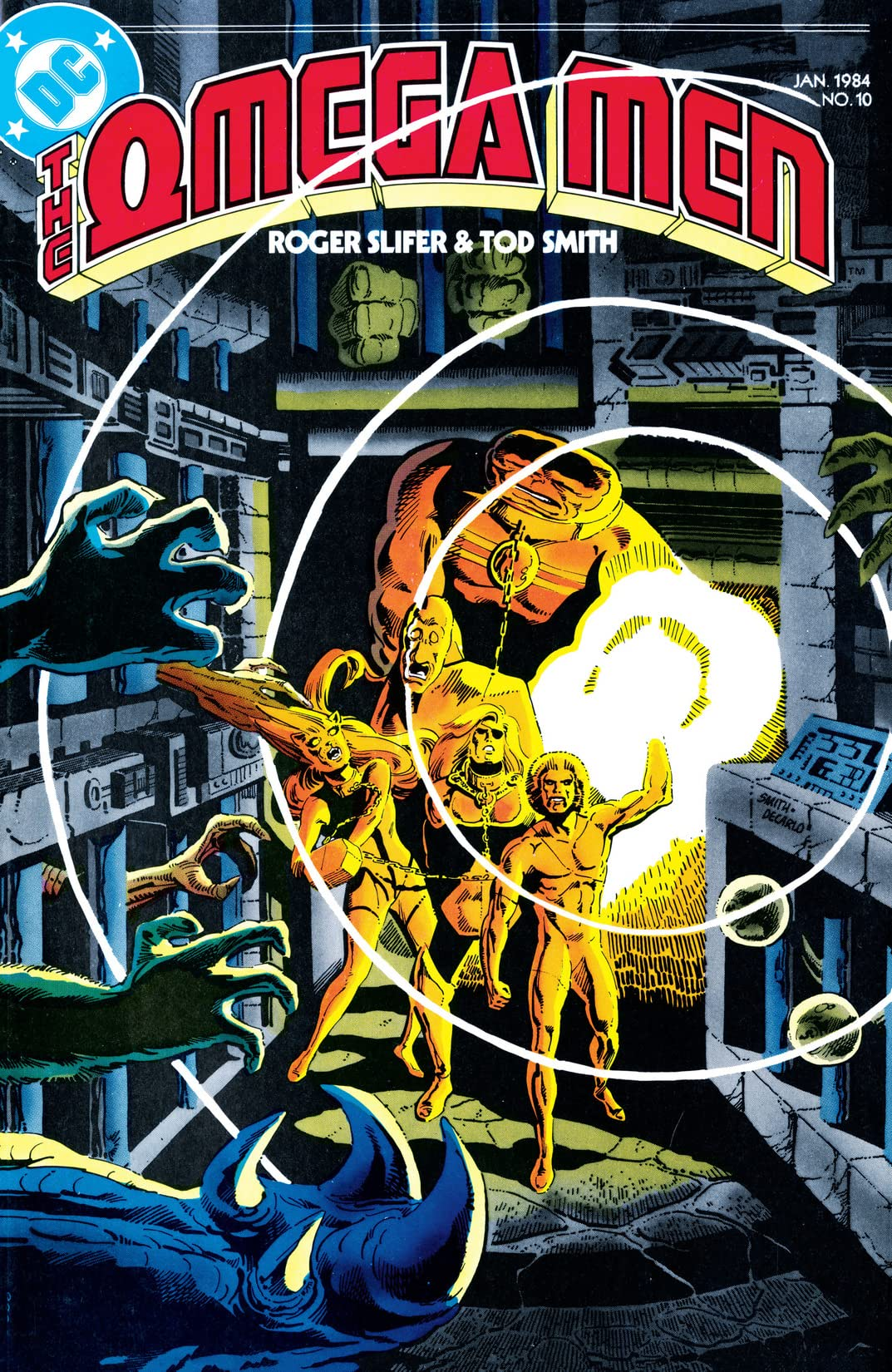 The Omega Men (1983-1986) #10