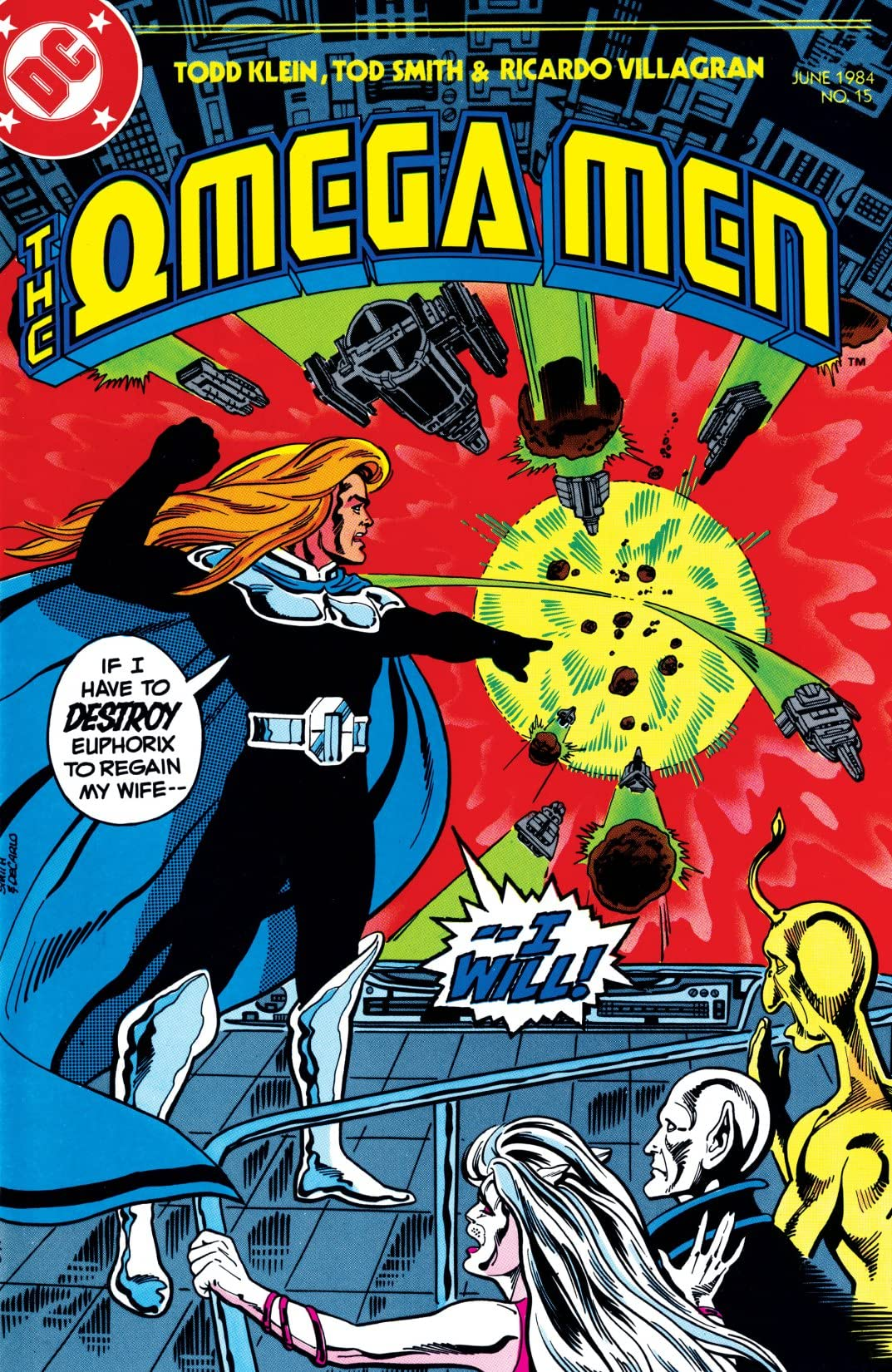 The Omega Men (1983-1986) #15