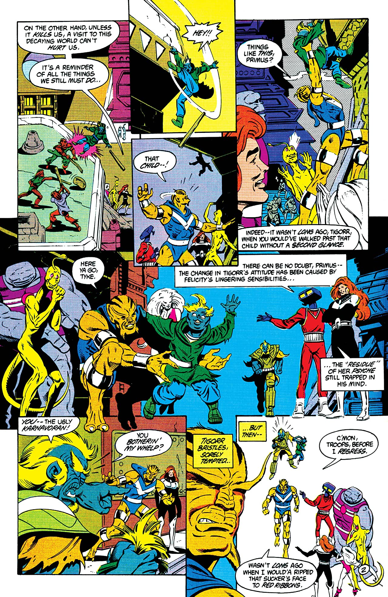 The Omega Men (1983-1986) #22