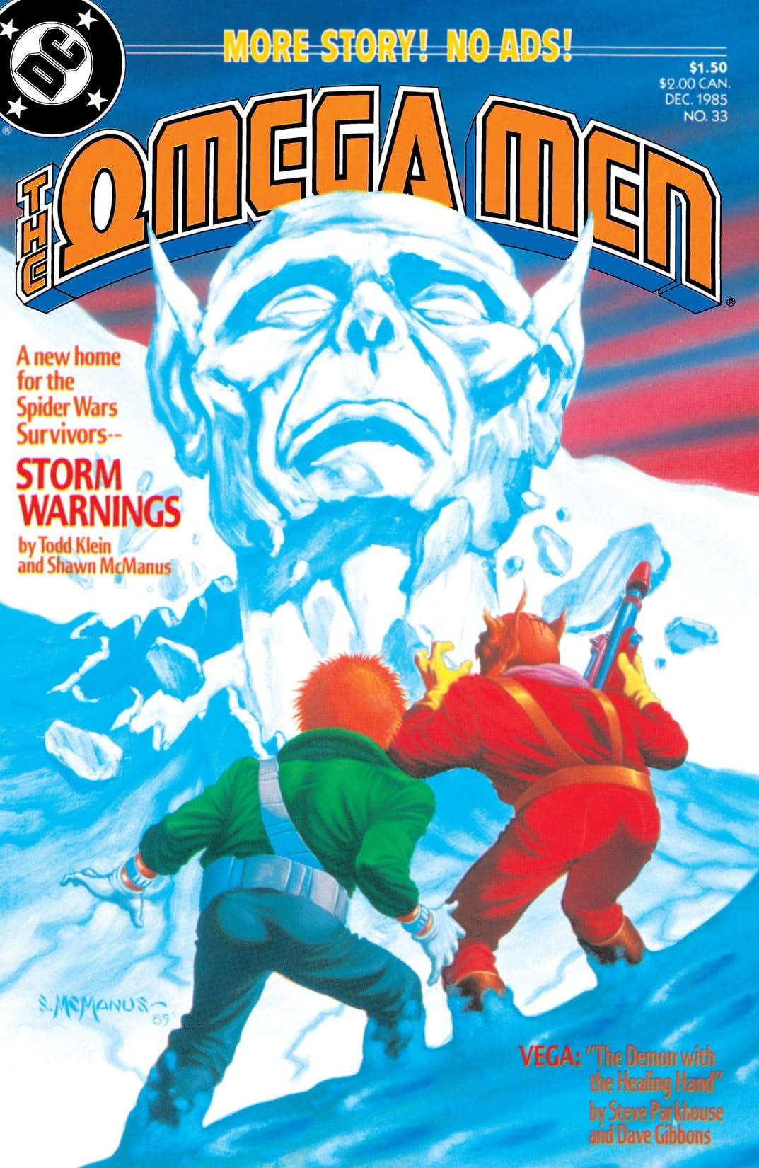 The Omega Men (1983-1986) #33