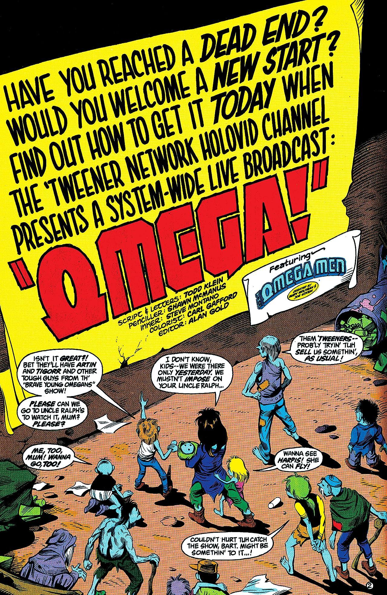 The Omega Men (1983-1986) #38