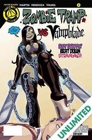 Zombie Tramp vs. Vampblade #2