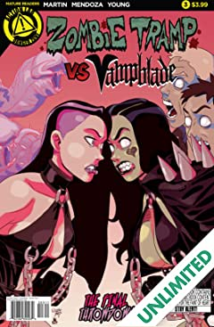 Zombie Tramp vs. Vampblade #3