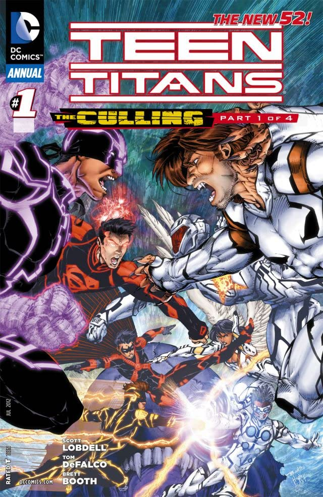 Teen Titans (2011-2014): Annual #1