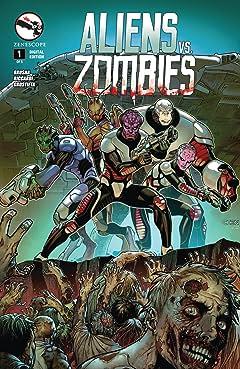 Aliens Vs. Zombies #1 (of 5)