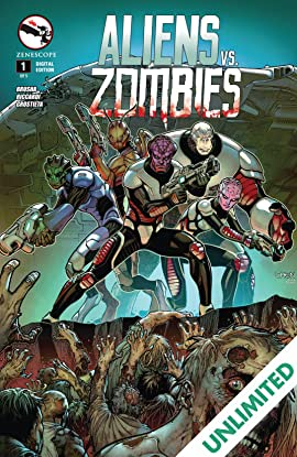 Aliens Vs. Zombies #1 (of 5)