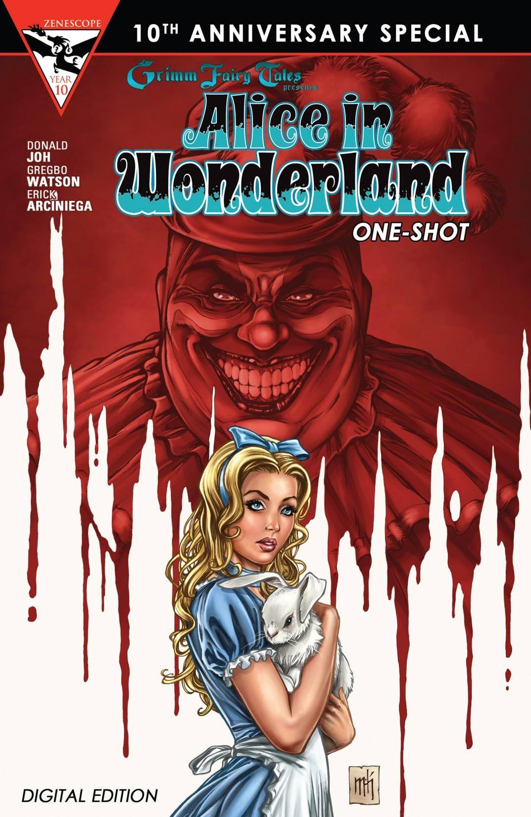 Grimm Fairy Tales 10th Anniversary One Shot - Alice in Wonderland