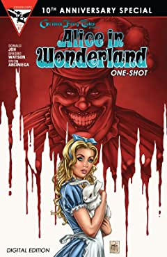 Grimm Fairy Tales 10th Anniversary One Shot - Alice in Wonderland