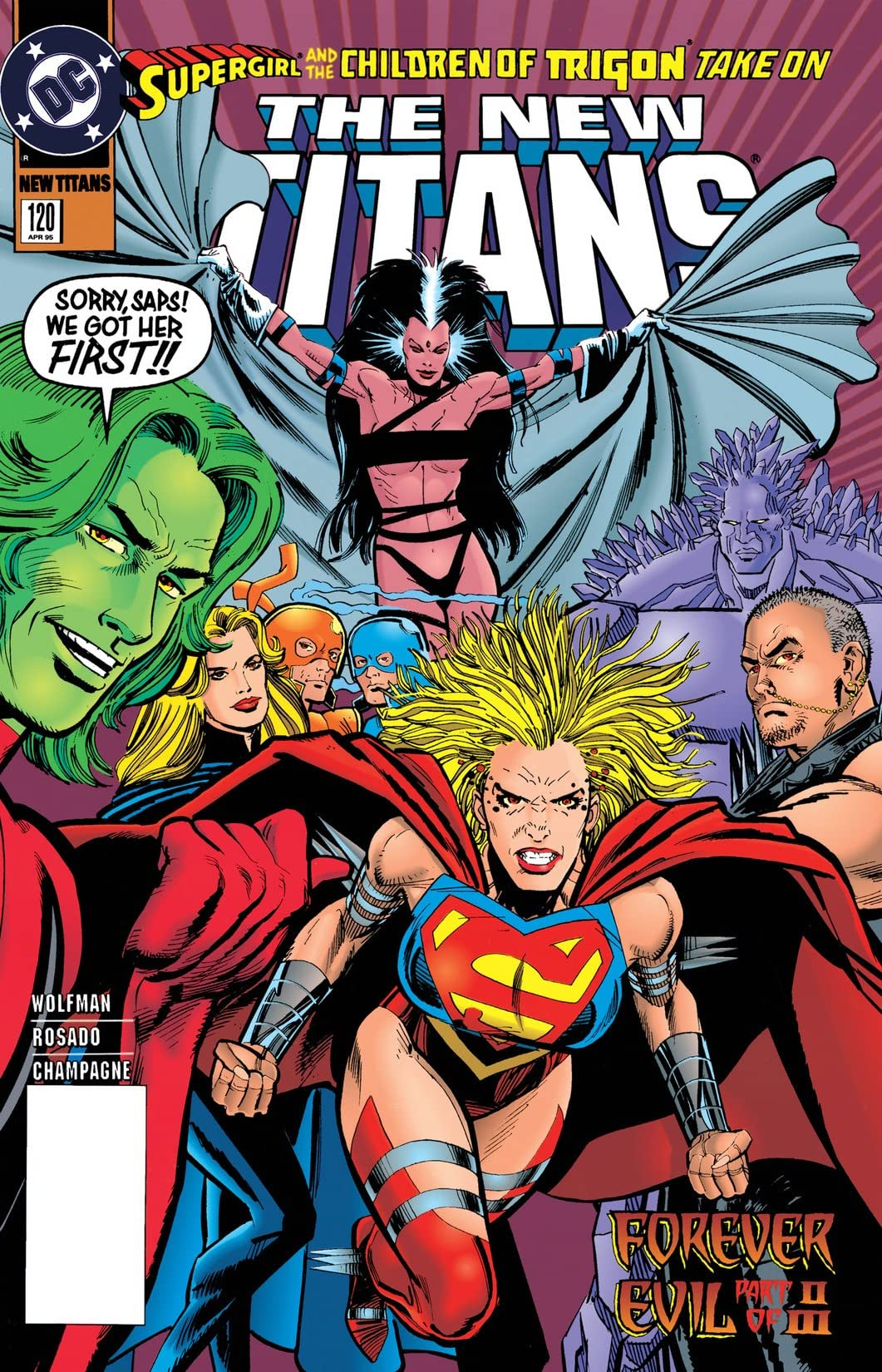 The New Titans (1984-1996) #120