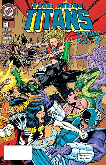 The New Titans (1984-1996) #121