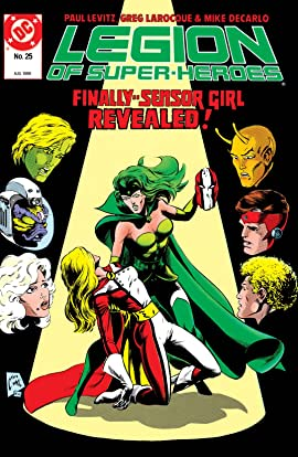 Legion of Super-Heroes (1984-1989) #25