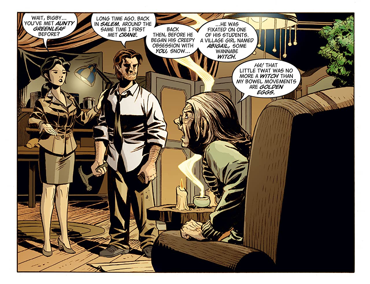 Fables: The Wolf Among Us #29