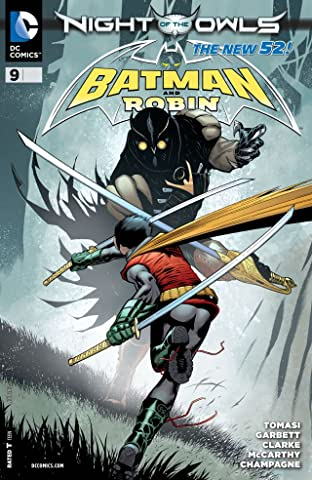 Batman and Robin (2011-2015) #9