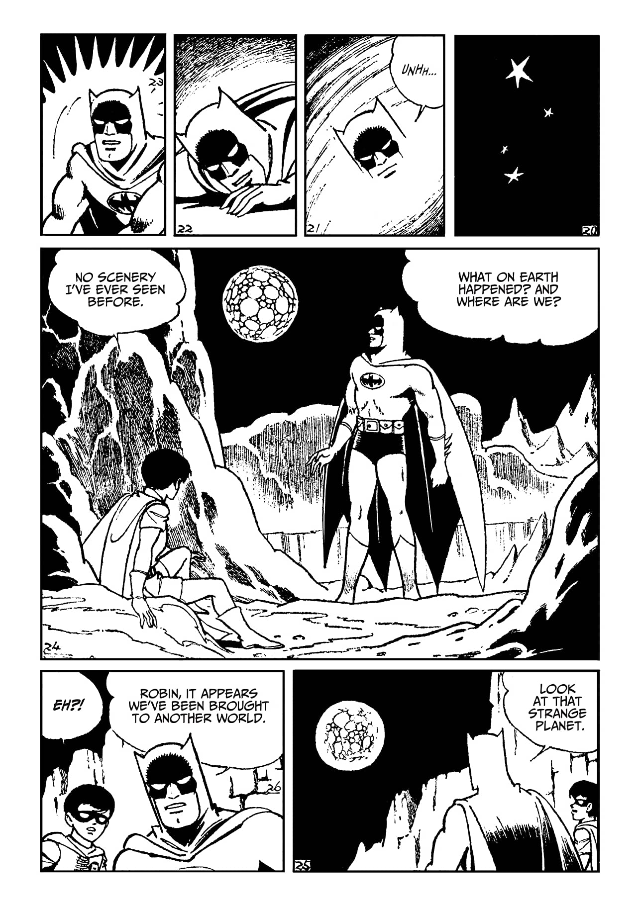 Batman: The Jiro Kuwata Batmanga #52