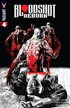 Bloodshot Reborn #4: Digital Exclusives Edition