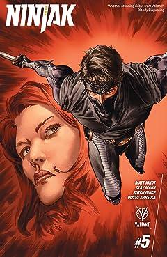 Ninjak (2015- ) #5: Digital Exclusives Edition