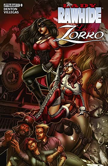 Lady Rawhide/Lady Zorro #3 (of 4): Digital Exclusive Edition