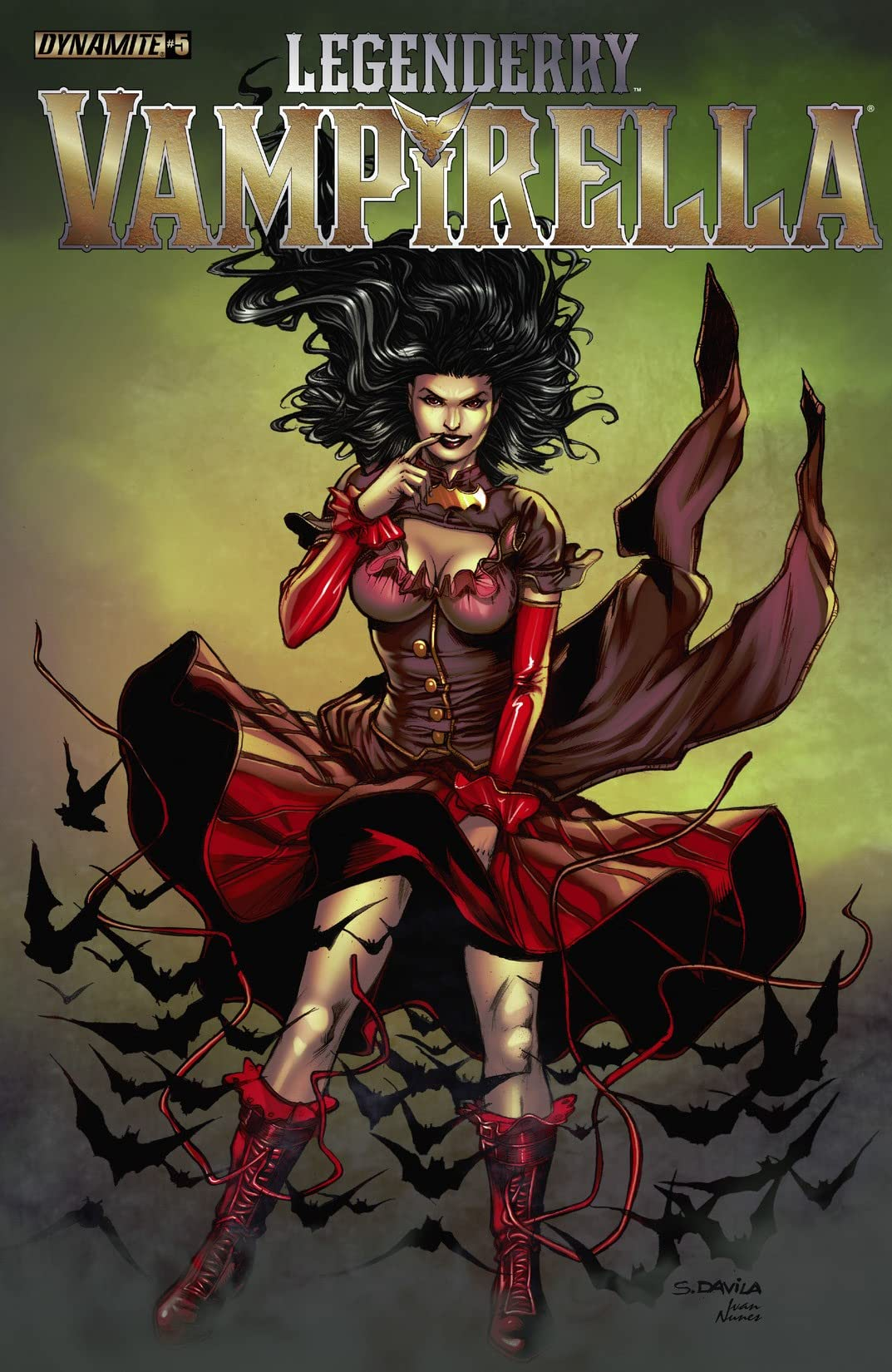 Legenderry: Vampirella #5 (of 5): Digital Exclusive Edition