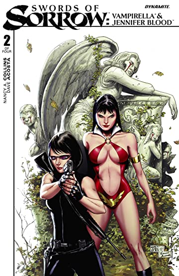 Swords of Sorrow: Vampirella & Jennifer Blood #2 (of 4): Digital Exclusive Edition
