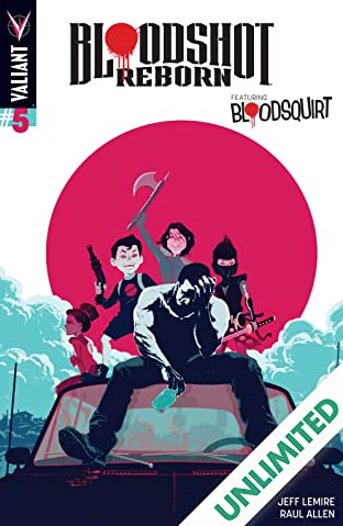 Bloodshot Reborn #5: Digital Exclusives Edition