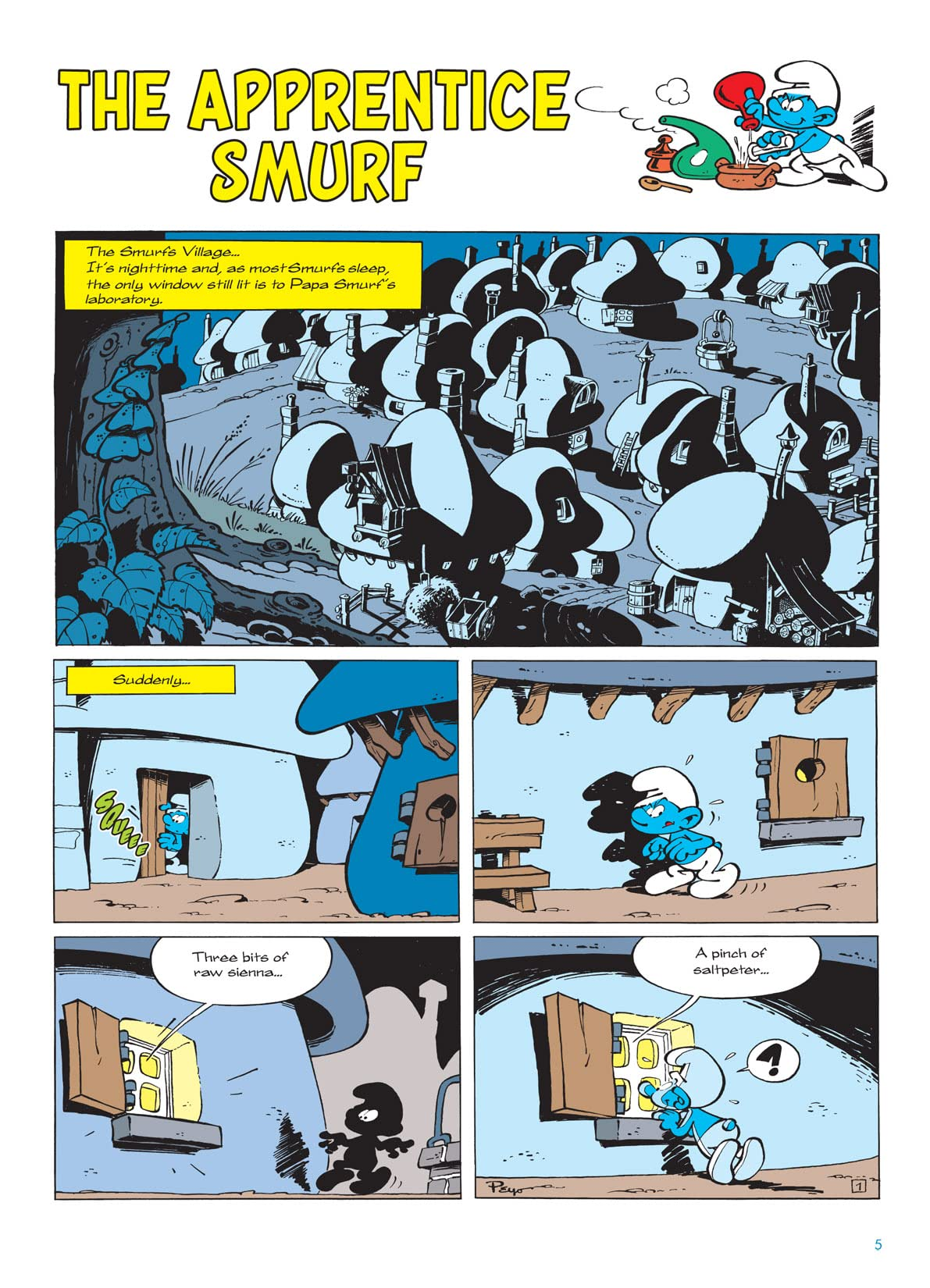 The Smurfs Vol. 8: Smurf Apprentice Preview