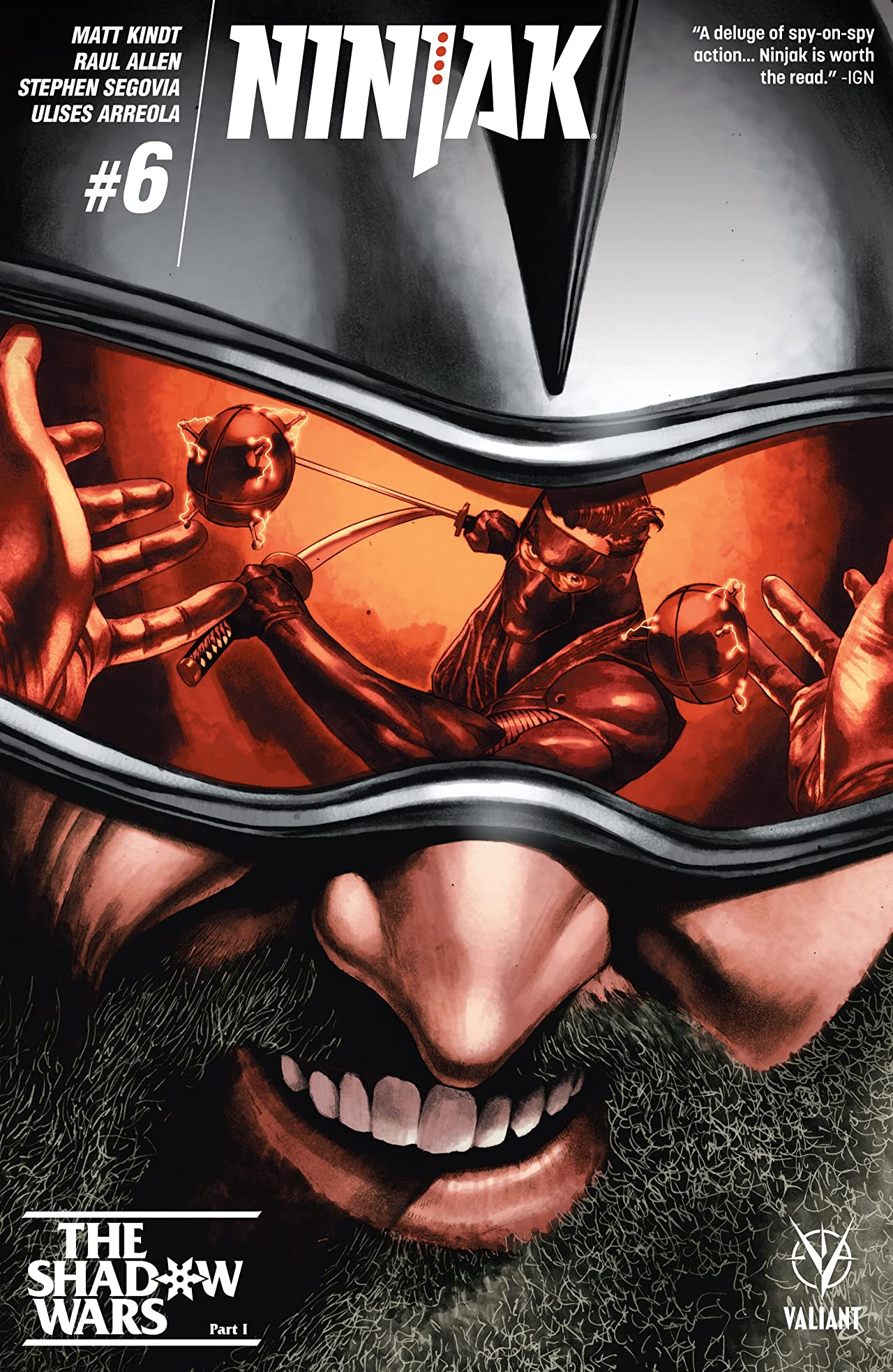 Ninjak (2015- ) #6: Digital Exclusives Edition