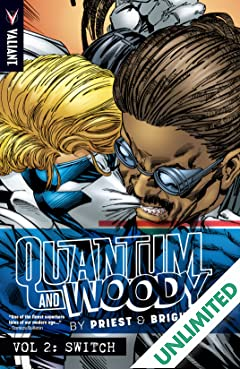 Quantum and Woody by Priest & Bright Vol. 2: Switch