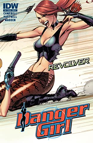 Danger Girl: Revolver No.4 (sur 4)