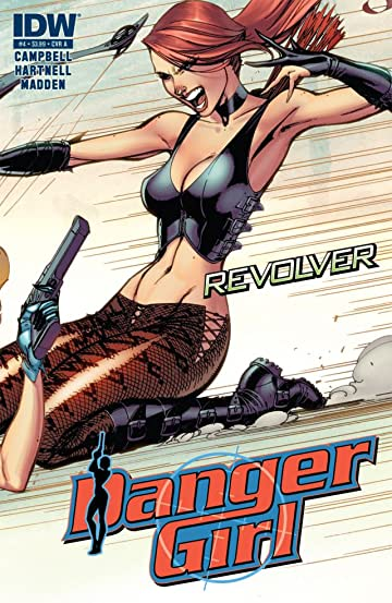 Danger Girl: Revolver #4 (of 4)