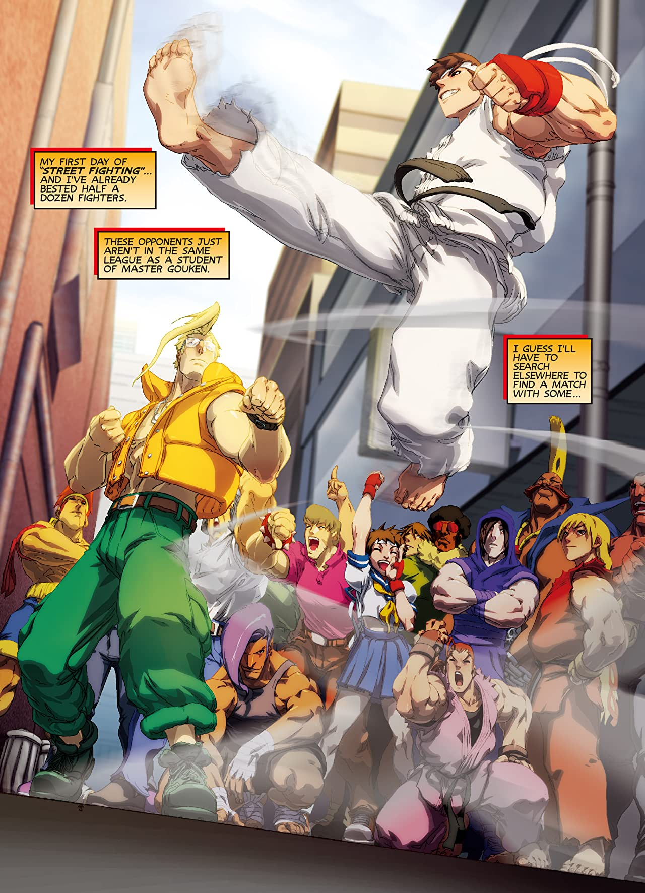 FCBD 2015 Street Fighter: Super Combo Special