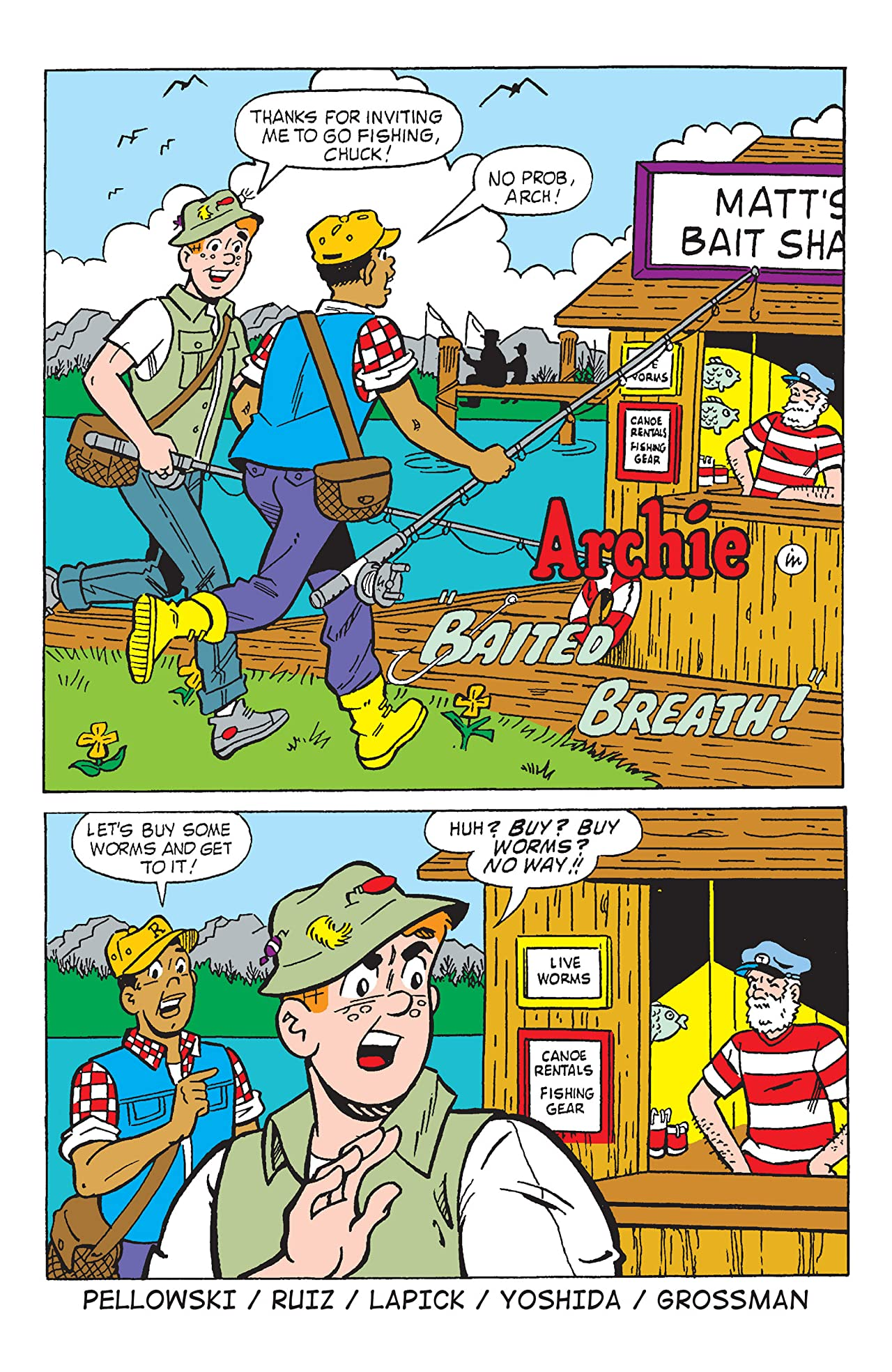 PEP Digital #153: Archie Hook, Line and Sinker