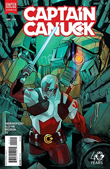 Captain Canuck (2015-) #2