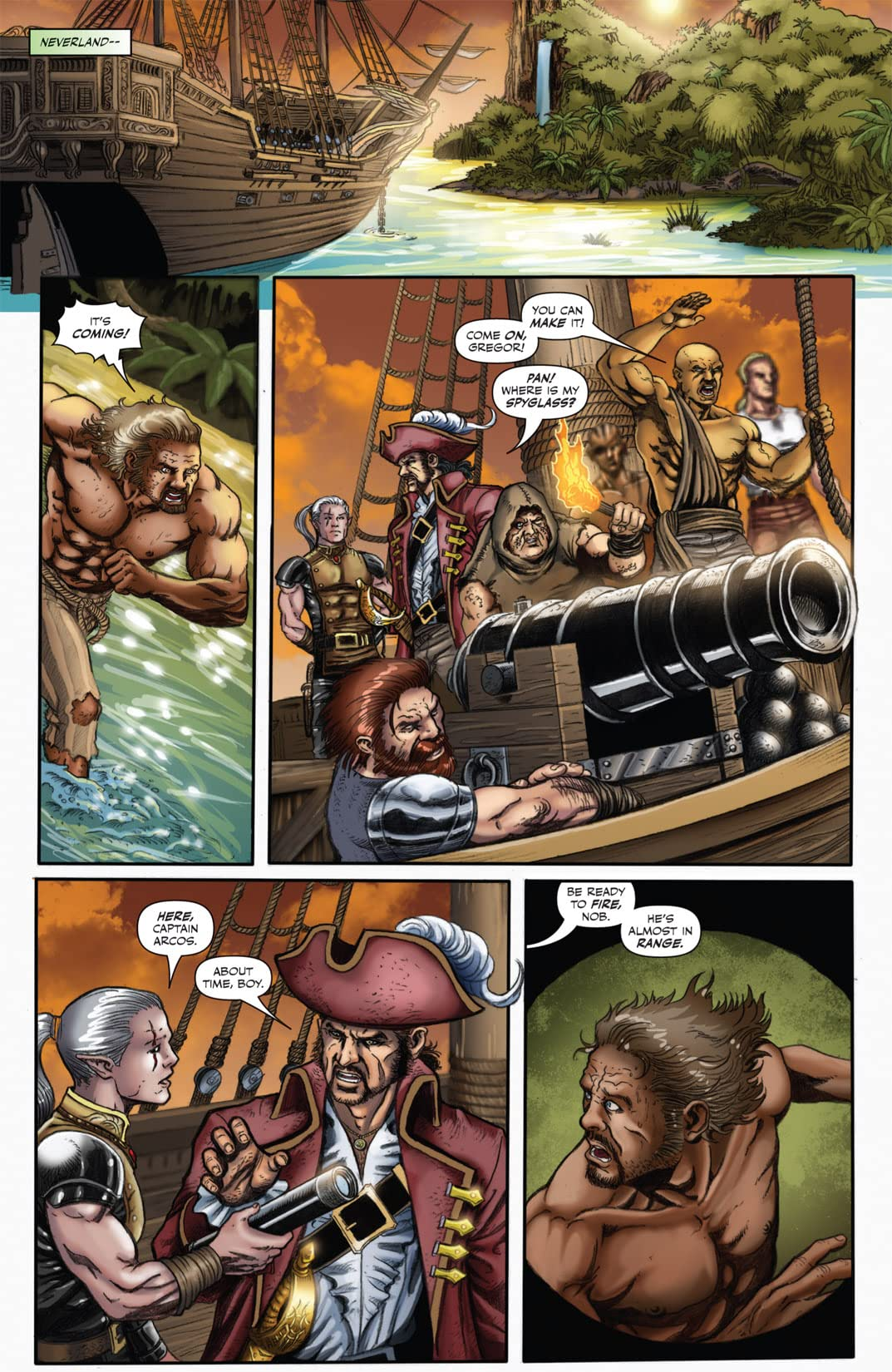 Tales From Neverland #3 (of 3)