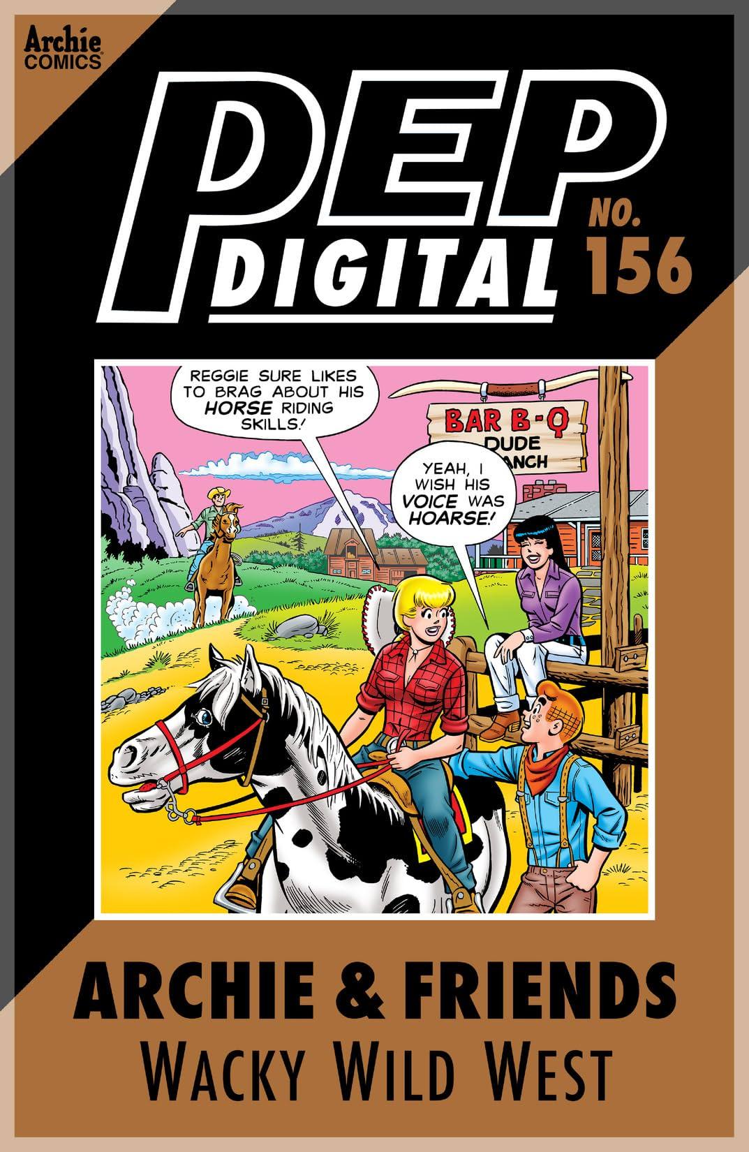 PEP Digital #156: Archie & Friends Wacky Wild West