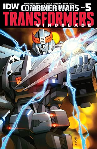 Transformers: Windblade (2015-) #3: Combiner Wars Part 5