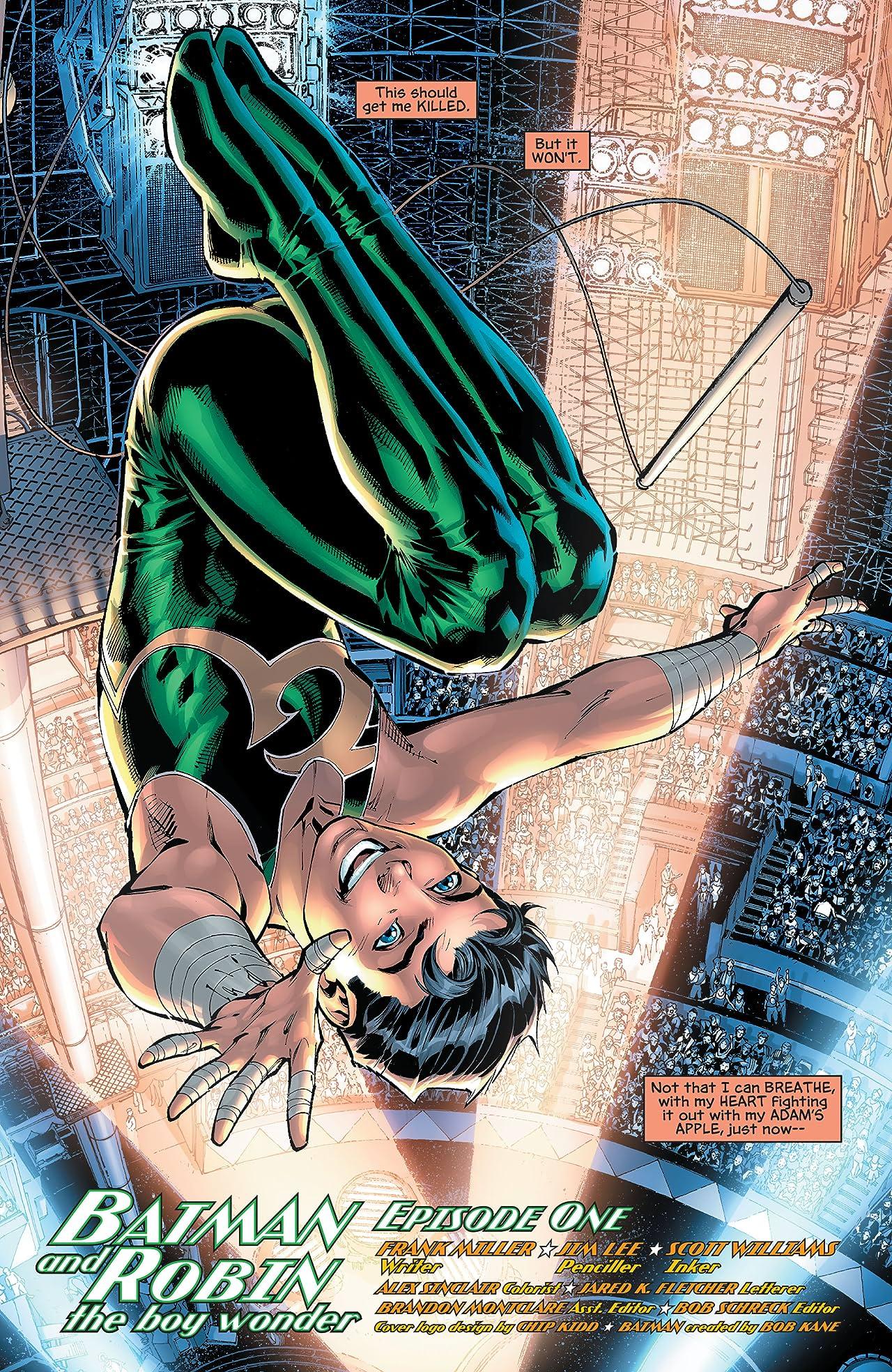 All-Star Batman and Robin, the Boy Wonder #1