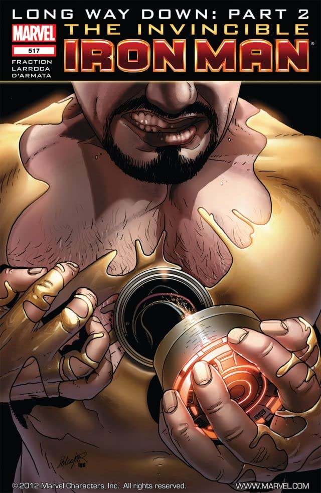 Invincible Iron Man (2008-2012) #517